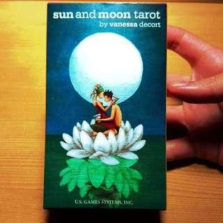 ((ヾ(´▽`)ノ)) 「二手」魔法師的學徒(日月塔羅牌sun and moon tarot)
