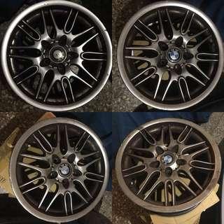17吋輪圈 BMW 適用