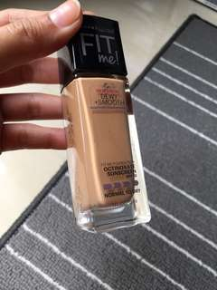 Fit me dewy smooth foundation