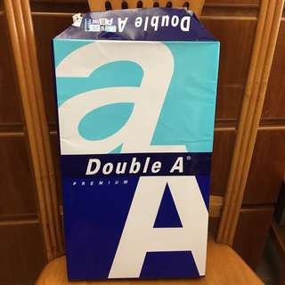 Double A F4 白紙 80gsm