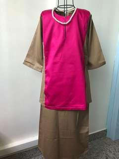 Classic baju kurung for girls