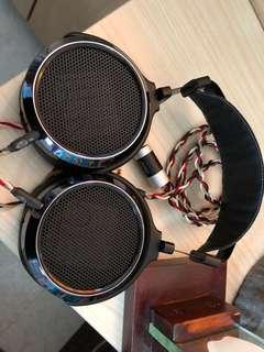 Hifiman HE400i with custom cable
