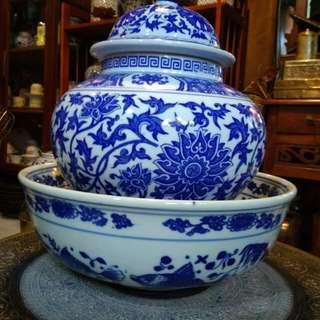 Mangkok & pot porselin china