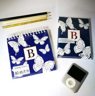 """🆕 Studio 18: Journal (5x8 Spiral Diary) and 6 Note Cards Bundle (2 NEW items with """"B"""")"""