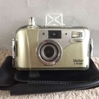 Pocket Camera Kamera Analog Vivitar UW500 Film