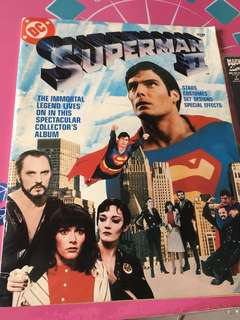 DC Superman 2 The movie magazine 1981