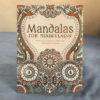 Mandalas for Mindfulness Colouring Book