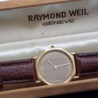 Vintage Raymond Weil Mens Watch With Box