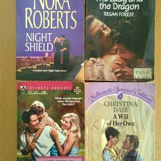 Night shield, her second chance family, the lady and the dragon, a will of her own