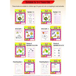 BEES Preschool Books