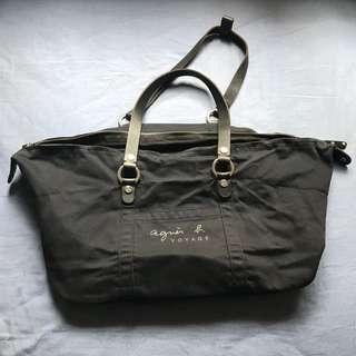 Agnes b Voyage Black bag