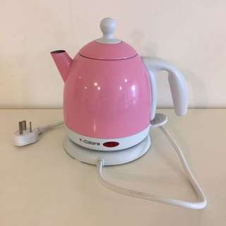 T Colours Pink Electric Kettle