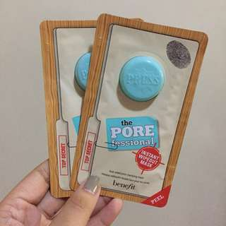 Auth Benefit Porefessional Instant Wipe-out Mask