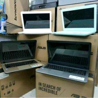 Kredit Semua Jenis Laptop / Notebook