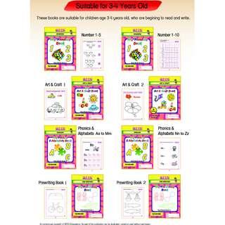Preschool Books FOR SALE