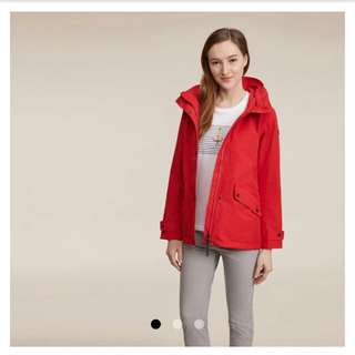 原價$3480(Size:38)正版AIGLE女裝GORE-TEX防水防風外套(專門店購買)