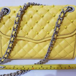 Rebecca Minkoff Mini Affair in Yellow