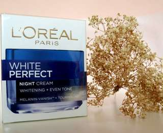 Loreal white perfect clinical #nightcream
