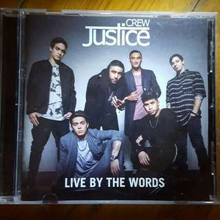 Justice Crew 'Live By The Words' CD