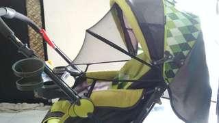 Baby Stroller Pliko Grande