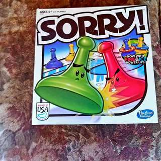Sorry Game With All The Pieces