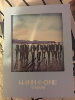 [Autographed- MWAVE] Wanna One: To Be One (sky)