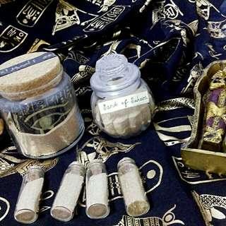埃及撒哈拉沙漠之沙--滴有古埃及香精(打開有香味)