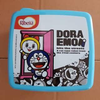 Ribena Doraemon Plastic Square Container