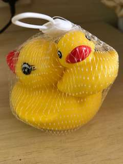 Rubber duckie small and mid sized