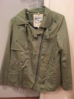 gozo軍綠色外套