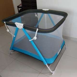 Foldable /Portable playpen and crib -NEGOTIABLE price