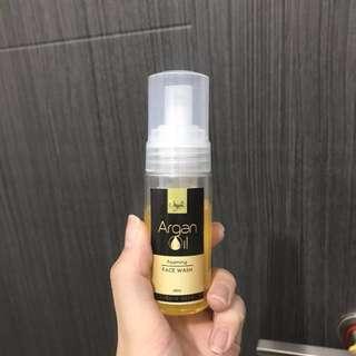 BeOrganic Age-Defying Argan Oil Foaming Face Wash (60mL)