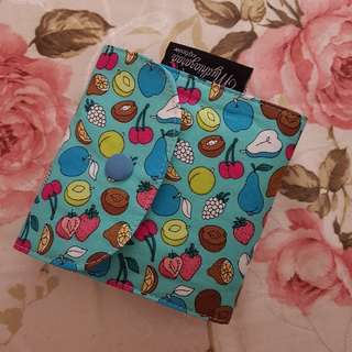 HIJAB PIN TRAVEL POUCH - FRUITY GREEN