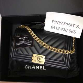 Chanel Boy Authentic