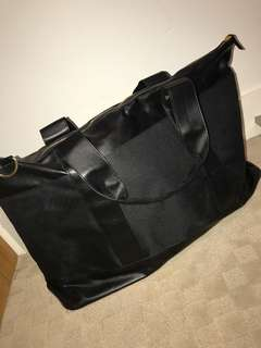 Black and Gold Women's Duffle Bag