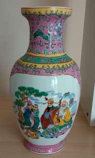 (超過40年)中國景德鎮製花瓶高31cm