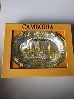 Cambodia decorative plate