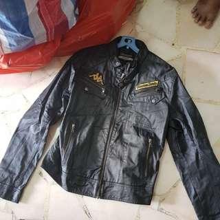 Kappa jacket Zara Man leather pants