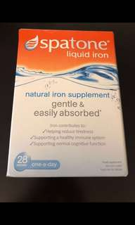 Spatone 鐵水 多送一包 原味冇盒