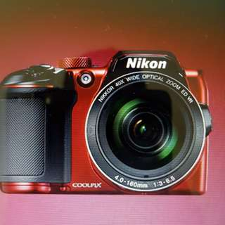 Nikon Coolpix B500 and accessories for sale