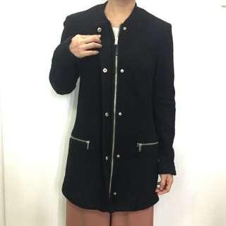 H&M black winter coat
