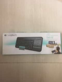 New Logitech Wireless Touch Keyboard 無線觸控板鍵盤 型號 k400r