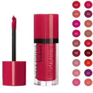 Bourjois rouge edition velvet lip liquid