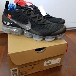 Nike x OFF WHITE Vapormax