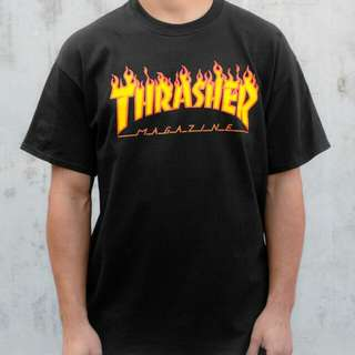 • Inspired Thrasher Mag Black Shirt •