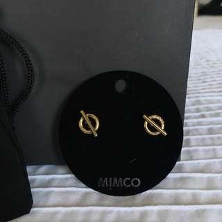 Mimco brand new earrings