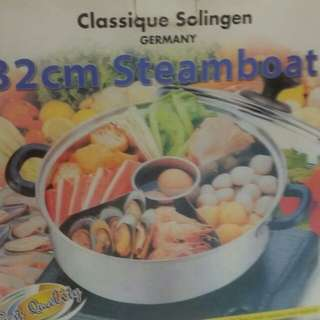32cm 4 sided Steamboat Pot