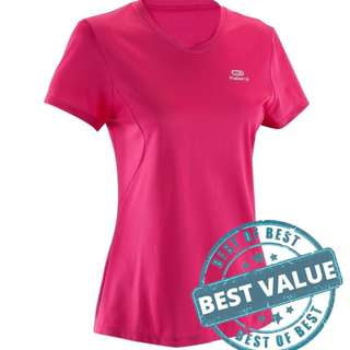 Recommended! Pink Dry-Fit Shirt P78