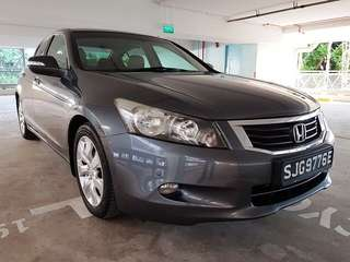 Honda Accord 2.4 (A) Singapore Register 🇸🇬 Cash only: rm 13.5k rdy JB