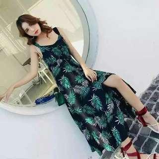 🌹Back Ribbon Dress